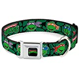 Buckle Down 22,9–38,1 cm nta-Classic Teenage Mutant Ninja Turtles Logo Hund Halsband