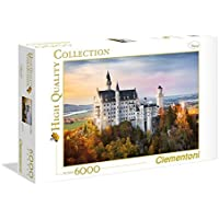 "Clementoni ""Neuschwanstein Castle"" Puzzle (6000-Piece)"