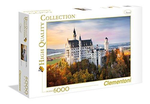 Clementoni - 36522.7 - Puzzle - Neuschwanstein - 6000 Pièces