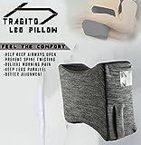 #8: Tragito Knee Pillow | Leg Pillow | Pregnancy pillow | Sciatica pain | Back Ache (Soft Memory Foam)