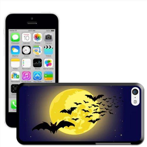 Fancy A Snuggle Halloween Hartschalenhülle (Für Apple iPhone), Moonlight Bats, iPhone 5c