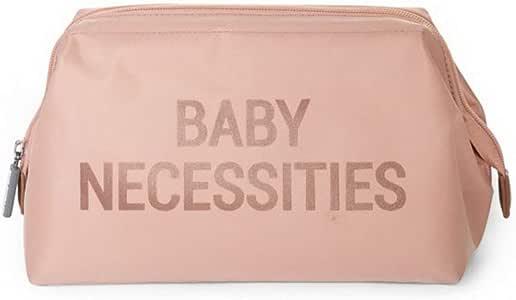 Childhome perfekt f/ür das allt/ägliche Wohl des neugeborenen Babys Babys Clutch Rosa 23x33x3cm Kinder Baby Accessoire moderne Windeltasche Wickeltasche Babytasche mit Baby Necessities