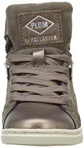 PLDM by Palladium Veleda Got Leo, Baskets Hautes Fille Marron (394 Bronze)