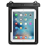 MoKo Custodia Impermeabile per iPad Mini Retina / iPad Mini 2 / 3 / 4, iPad Pro 9.7, Galaxy Tab S2 8.0 / 9.7, HUAWEI MediaPad M2 / M1 e altri dispositivi fino a 10, NERO