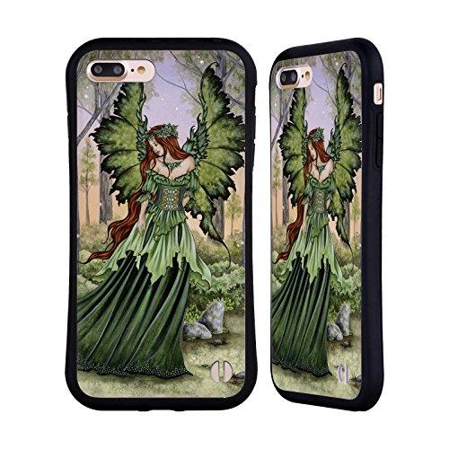 Ufficiale Amy Brown Passaggio DellAutunno Fate Case Ibrida per Apple iPhone 7 / iPhone 8 Donna Delle Foreste