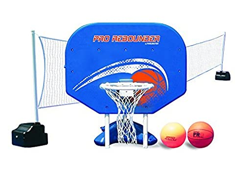 Poolmaster 72775 Pro Rebounder Poolside Basketball / Volleyball Game Combo