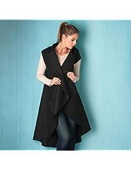 Brave Soul - Abrigo - para mujer, Mujer, color negro, tamaño