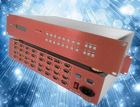 GOWE Multimedia Konferenzraum AV MATRIX Switcher 16* Composite CVBS Av Matrix Switcher