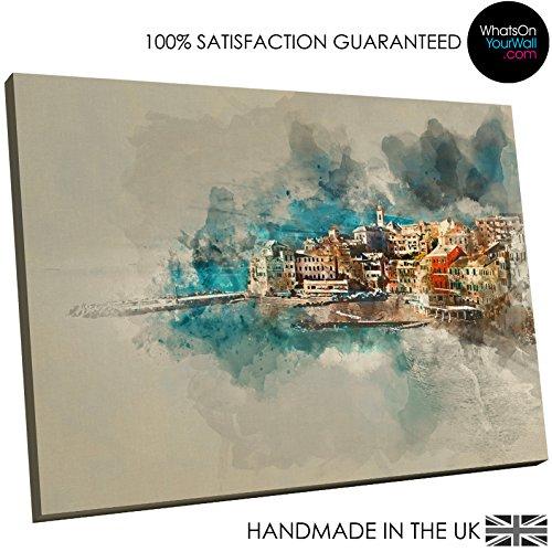 sc905e–Groß Gerahmter Kunstdruck auf Leinwand–modern Art Wand, HD Qualität von...