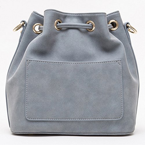 Mega, Borsa a spalla donna, Grey (Grigio) - bb-01441-01Q Grey