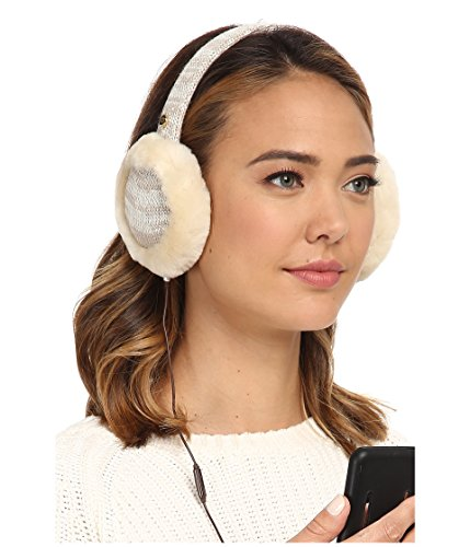 UGG Australia Womens Classic Marled Tech Earmuff with Sequins Moonlight Multi One Size