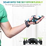 Best JJRC Mini Rc Helicopters - Quadcopters 6 Axis 4CH Mini Blue Fat Drone,Remote Review
