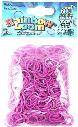Rainbow Loom Official Rubber Band, Multi Color