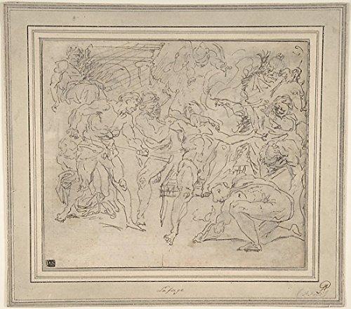 raymond-de-la-fage-martydom-of-st-lawrence-kunstdruck-4572-x-6096-cm