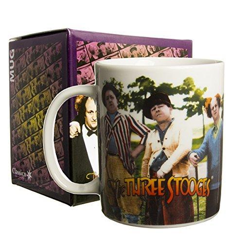 Three Stooges Mug Golf Scene by Culturenik (Golf Three Stooges)