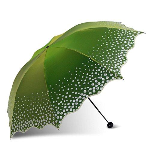 Xxhdyr ombrello pieghevole colorato ombrello di protezione dai raggi uv ombrello (colore : a)