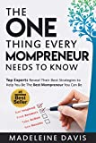 The One Thing  Every Mompreneur Needs to Know (English Edition)