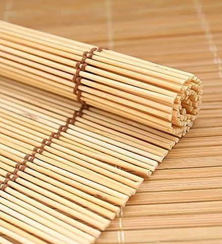 LIQICAI Bambou Store Translucent Patio Decor pour jardin maison, 160 cm de long, 3 tailles disponibles ( Couleur : A , taille : 60 x 160 cm - 2 Set )