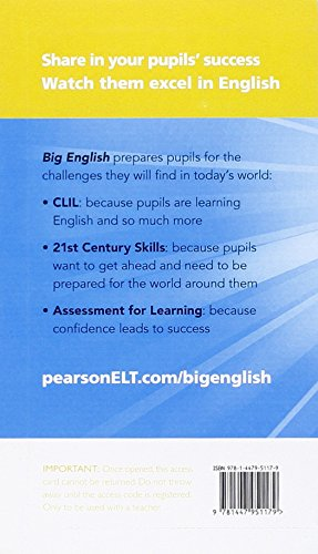 Big English 6 Pupil's eText Access Code (standalone)