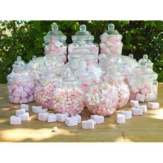 Plastic Jar Party Pack - 19 Assorted Jars by jars2u