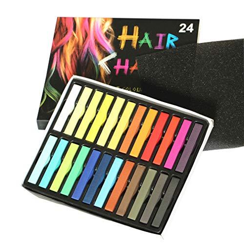 Lefu Temporäre Farbstoff Haarbürste Waschbare Haarkreide
