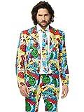 Opposuits Marvel Comics Anzug für Herren besteht aus Sakko, Hose und Krawatte