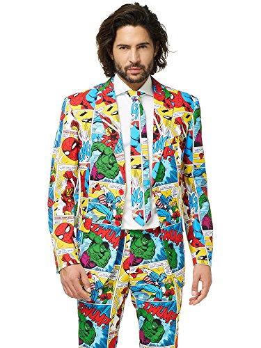 OppoSuits Official Marvel Comics Hero Suits - Infinity War Avengers Costume Comes with Pants, Jacket and Tie