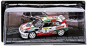 Promocar - 20141107_55 - Véhicule Miniature - Modèles À L'échelle - Toyota Corolla Wrc - Rallye Monte Carlo 1998 - Echelle 1/43