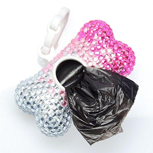savori-hundekotbeutel-handgemachte-funkelnde-kristalldiamant-plastik-hundeknochen-haustier-abfallbeu