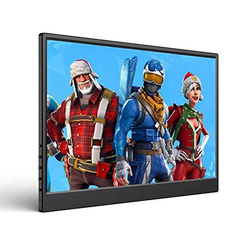 13,3 Zoll Portable Gaming Monitor UPERFECT 1920X1080 FHD Tragbarer Externen HDR IPS Display Ultradünner Bildschirm Dual Mini HDMI Typ-C Angetrieben für PS / X-Box / Raspberry Pi / PC