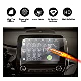 Protecteur d'écran en verre trempé 8 pouces pour le système de navigation de (2016-2017) Ford Fiesta ST MK 8 (SYNC 3), film de protection transparent protecteur transparent, Crystal HD Clear protecteur d'écran, protection des yeux, RUIYA