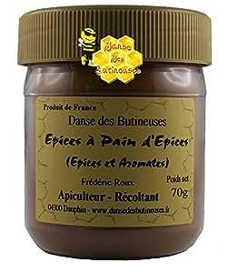 Pot de mélange pour la réalisation du Pain d'épices 70g / Produit de France