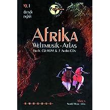 Weltmusik-Atlas; Worldmusic Atlas, Bd.1, Afrika, 1 CD-ROM u. 3 CD-Audio m. Begleitbuch