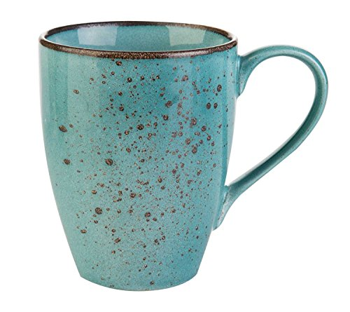 Kaffeetasse Kaffeebecher Teetasse NATURE COLLECTION BLAU 4 | Steinzeug | 300 ml