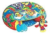 Playgro Cojín de Actividades para Jugar Sentado, A partir de los 6 meses, Sit Up and Play Activity Nest, Multicolor, 40192