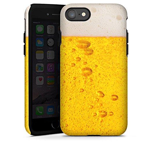 Apple iPhone 5c Silikon Hülle Case Schutzhülle Bier Design Oktoberfest Tough Case glänzend