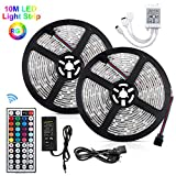 Bonve Pet Tiras LED 10m 5050 RGB, Akapola Tiras de Luces LED...