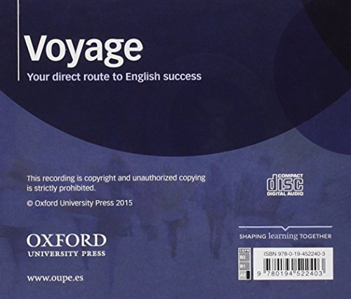 Voyage. Level A2. Class CD