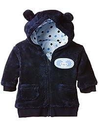 Twins Baby Boys Hooded Fleece Jacket