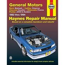 General Motors J-Cars, 1982-1994: Buick Skyhawk, Cadillac Cimarron (Haynes Repair Manual)