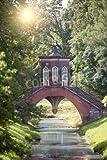 Poster-Bild 20 x 30 cm: Chinese bridge (1786) in the Alexander Park in Pushkin (Tsarskoye Selo), near Saint Petersburg,