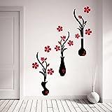 #8: Wall Sticker (Flower Pots 107*125 CM )