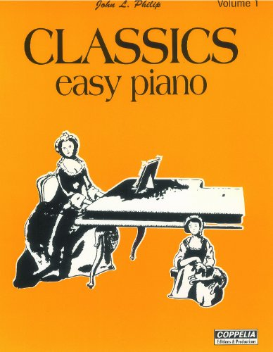 Partition: Classics easy piano vol. 1