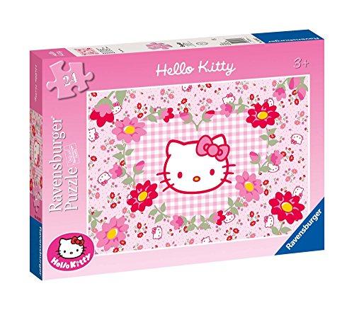 Imagen 2 de Hello Kitty - Un mar de flores, puzzle de 24 piezas (Ravensburger 05262 2)