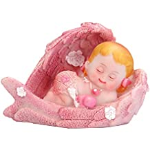 Baby-Figur in Tuch hellrosa