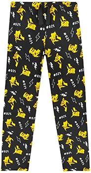 Pokèmon Pijama Niño, Pantalones Largos Pijamas Niños con Estampados de Pikachu, Ropa Niño 100% Algodon, Regalo
