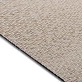 Design Bodenschutzmatte Verona in 6 Größen | dekorative Unterlegmatte für Bürostühle oder Sportgeräte (200 x 180 cm)