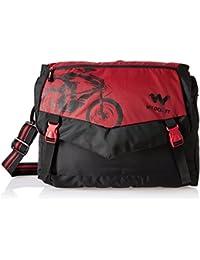 Wildcraft Polyester Black Messenger Bag (Messenger L : Wildcraft : Black)