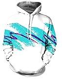 AMOMA Jungen digitaldruck Kapuzenpullover Tops Fashion Hoodie Pullover Hooded Sweatshirt