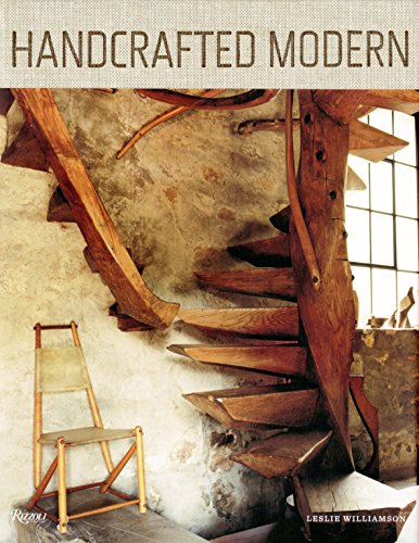 Handcrafted Modern: At Home with Mid-Century Designers por Leslie Williamson